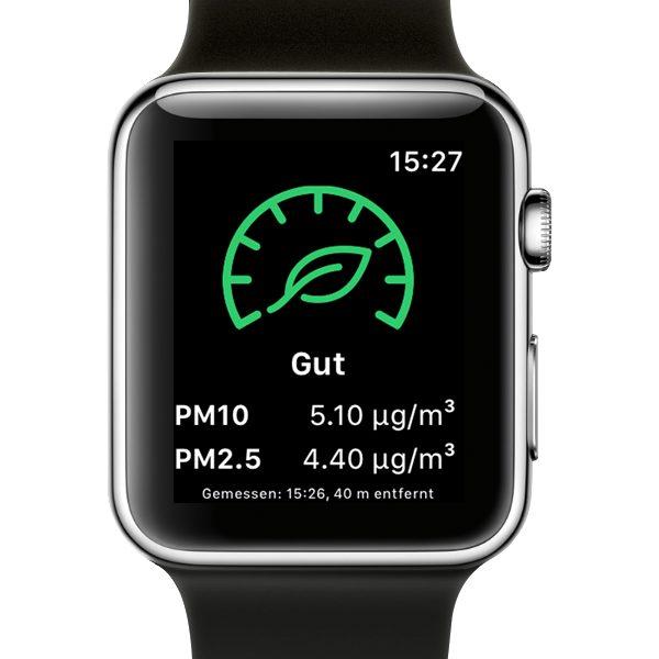 Breathe Apple Watch Gute Luftqualität