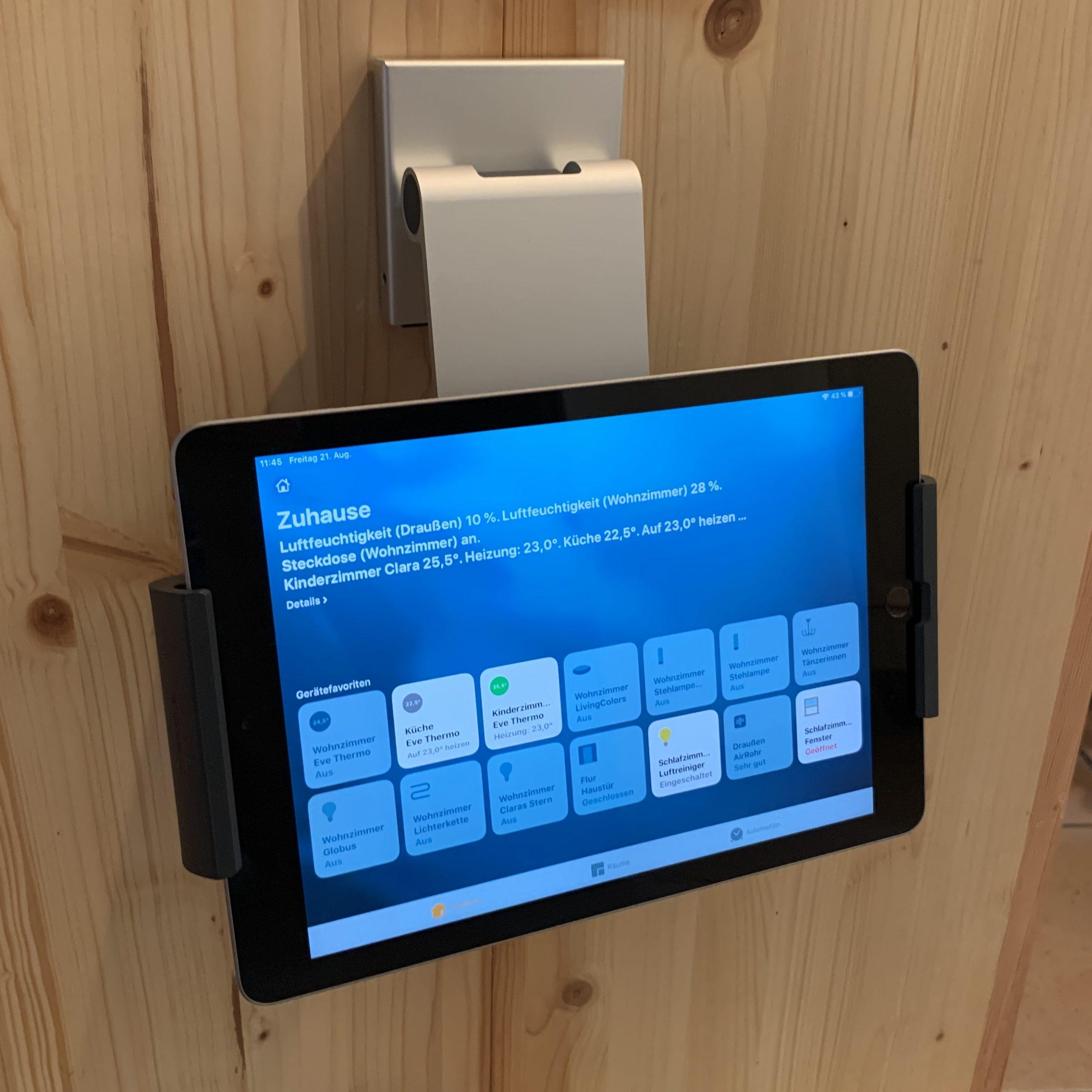 Wandhaltung für das iPad – Durable Tablet Holder im Test