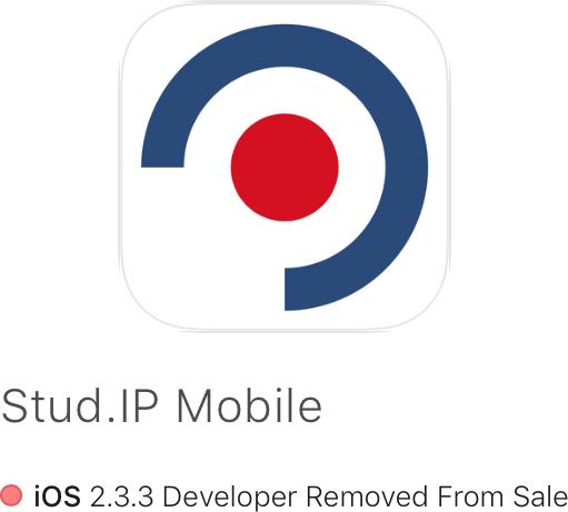Goodbye Stud.IP Mobile