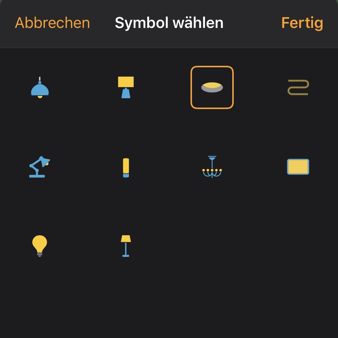 HomeKit Tipp: Icon und Typ ändern